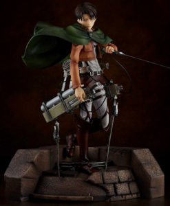 Attack on Titan Levi Pulchra Figure