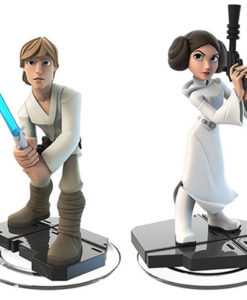 Star Wars Disney Figures Luke Leia