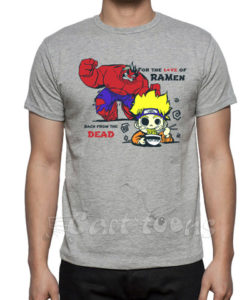 Marvel Anime Fusion Tshirt