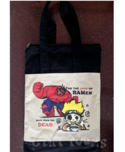 Marvel Anime Fusion tote bag