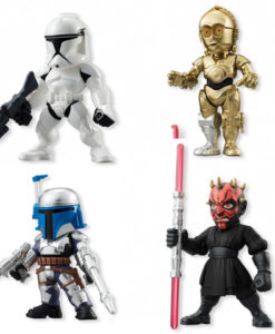 BANDAI Disney Star Wars Converge 2, Darth Maul_Clone Trooper_Jango Fett_C-3PO
