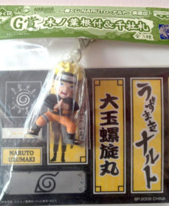 Ichiban Kuji sticker cards Naruto Cellphone Charm