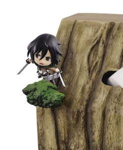 Shingeki no Kyojin Mikasa miniFigure Tissue case set BANPRESTO